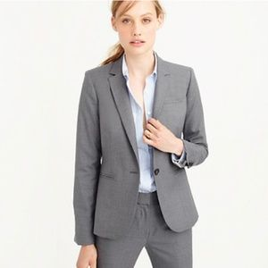 J. Crew Tailored blazer in Italian Super 120s wool